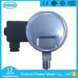 contact électrique de 100mm tout le manomètre d'indicateur de pression d'acier inoxydable