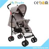 Preço barato de pouco peso de dobramento do basculador do bebê do brinquedo por atacado do carrinho de criança do guarda-chuva