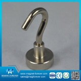 35 lbs starke magnetische runde niedrige Potenziometer-Magnet-mit Metallkasten