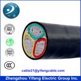 Câble isolé par XLPE blindé pour la basse tension