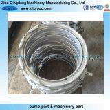 Kundenspezifische Edelstahl-Ring für Herstellung Bearbeitung Teil mit Poling Sandstrahl