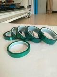ポリエステルおよびシリコーンの接着剤が付いている緑3Dプリンターテープ