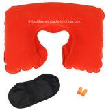 Calidad y precio competitivo en forma de U inflable Almohada para cuello Almohada de coches