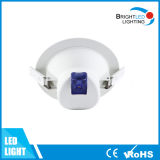 CE, RoHS/MAZORCA redonda Downlight ahuecado LED de la iluminación del techo