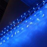 La lumière nette flashante programmable bleue multifonctionnelle de DEL