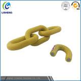 Cadeia decorativa de ligação revestida de plástico