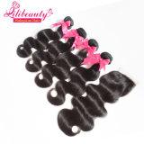 Волосы Remy малайзийских волос Weft естественные