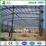鉄骨構造の建物の研修会車の駐車倉庫の学校のデッサン