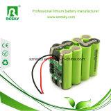 3.7V 6ah het Navulbare Pak Icr18650-3p van de Batterij voor GPS