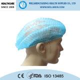 Hospital de uso desechable no tejidas Médico Caps con los lazos