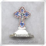 Standbeeld van het Kruisbeeld van Jesus-Christus het Dwars (iO-Ca095)