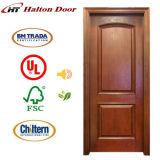 Puerta de madera de China Halton/puerta de madera para la vida del hogar/la puerta de entrada de madera/la puerta de madera de lujo
