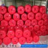 Prodotto a spirale intessuto pp rosso per impaccare
