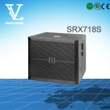 Srx718s Simple 18 '' Professional Sound Equipment comme Subwoofer