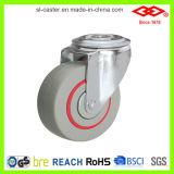 """Do """" rodízio industrial reduzido ruído do furo de parafuso giro 5 (G102-51D125X36)"""