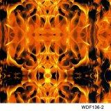 Kingtop 1m Overdracht die van het Water van het Ontwerp van de Schedels en van de Vlam van de Breedte Hydrografische Film wdf137-1 afdrukken