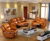 Софа Recliner воздуха кожаный, самомоднейшая живущий мебель комнаты, горячая софа надувательства (GA03)