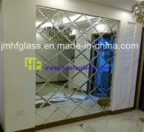 specchio dell'oggetto d'antiquariato della parete del salone di 5mm come decorativo