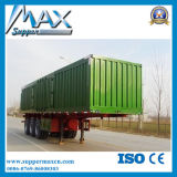 Alloy de aluminio Cargo Box Dry Van Semi Trailer para Hot Sale