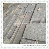 ホテルのための中国白か灰色またはYelllowの花こう岩の大理石の台所カウンタートップ