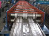 기계를 형성하는 강철 갑판 지면