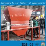 Shredder biaxial do frasco da tubulação/animal de estimação do plástico da venda direta da fábrica/Tire/PVC