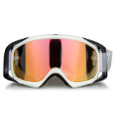 Transparentes Objektiv speichern kundenspezifische Motorrad-Schutzbrillen für Sport- aus