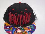 Kundenspezifische Digital-Druck-Rand-Hysteresen-Hüte der Stickerei-3D