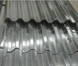 лист материала толя здания 0.20mm Sgch гофрированный гальванизированный стальной