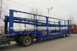 De 3 essieux de véhicule de transporteur de /Car de transporteur de transport remorque semi à vendre