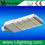 Luz de rua ao ar livre urbana do diodo emissor de luz da estrada do projeto IP66 200W modular de lâmpada de rua do brilho elevado