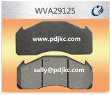 Almofadas de freio livres Wva29125 do asbesto