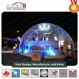 Big aluminium et PVC Tente Caravan