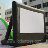 Hinteres Projection Inflatable Cube Movie Screen für Advertizing