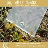 印刷されたシルクスクリーン/和らげられた/強くされたエッチングされた酸のガラスは曇らした