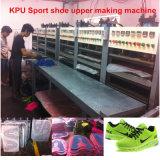 Cubierta del zapato que hace la máquina
