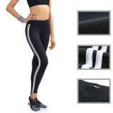 Chine Fabricant OEM Service MID Waist Piping Casual Ladies Pants