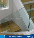 El vidrio claro/leche/vidrio laminado blanco de Clolored/templó el vidrio laminado templado bajo del vidrio laminado de E/el vidrio laminado a prueba de balas endurecido coloreado