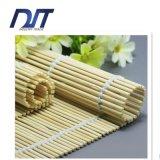 Esteira branca de bambu natural pura do rolamento do sushi