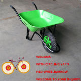 Constructionpopular Sellingin中東Market (WB6400A)のための強いWheelbarrow