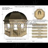Gouden Travertijn Gazebo voor Meubilair mgz-001 van de Tuin