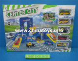 Spätestes Toys Metal Parking Lot mit Map (9125111)