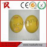 Riflettori di ceramica della vite prigioniera della strada di sicurezza stradale degli occhi di gatto 10cm