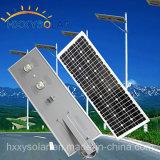 Prezzo di fabbrica tutto in un indicatore luminoso di via solare della parte superiore LED