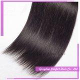 Extensão superior superior do cabelo da venda por atacado reta longa natural do cabelo humano