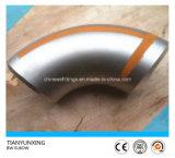 Coude sans joint du degré 316 de la LR 90 d'acier inoxydable de Tianjin