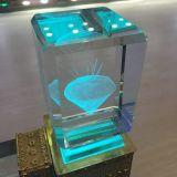Hsgp-3kc Machine van de Laser van de Machine van de Gravure van de Laser van de Foto van het glas 3D