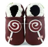 Chaussures en cuir de mode pour le bébé