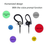 Más auricular sin hilos de Bluetooth del deporte de la función