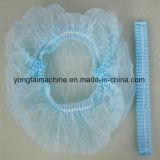 Macchina Bouffant rotonda della protezione del PE non tessuto e di plastica dei pp a gettare